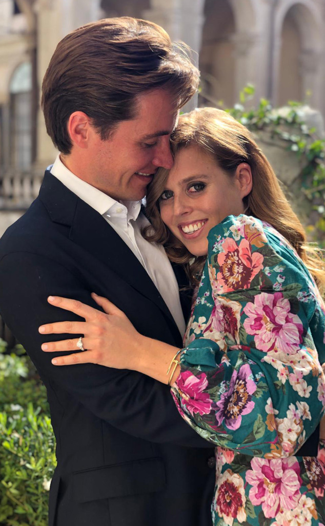 Princess Beatrice Announces Engagement To Edoardo Mapelli Mozzi
