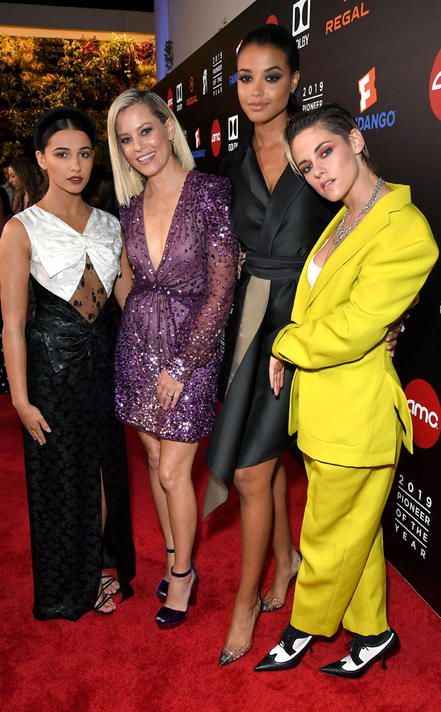 Elizabeth Banks, Kristen Stewart, Naomi Scott, Ella Balinska