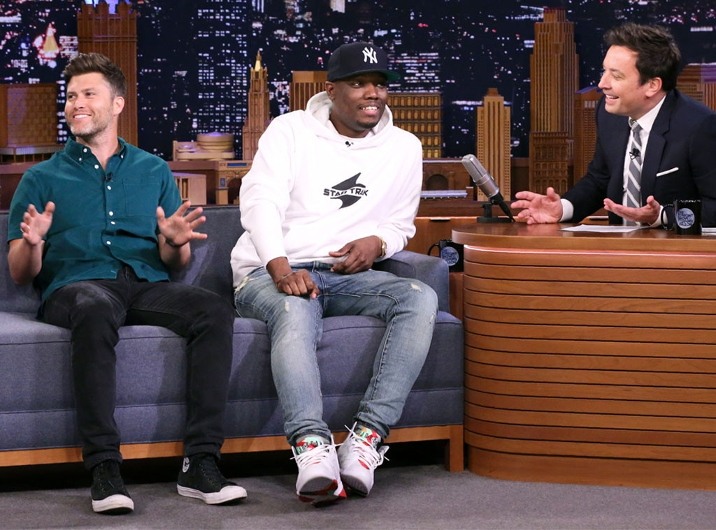Colin Jost, Michael Che, Jimmy Fallon, The Tonight Show