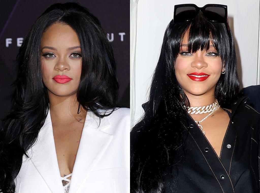 Rihanna, Hair