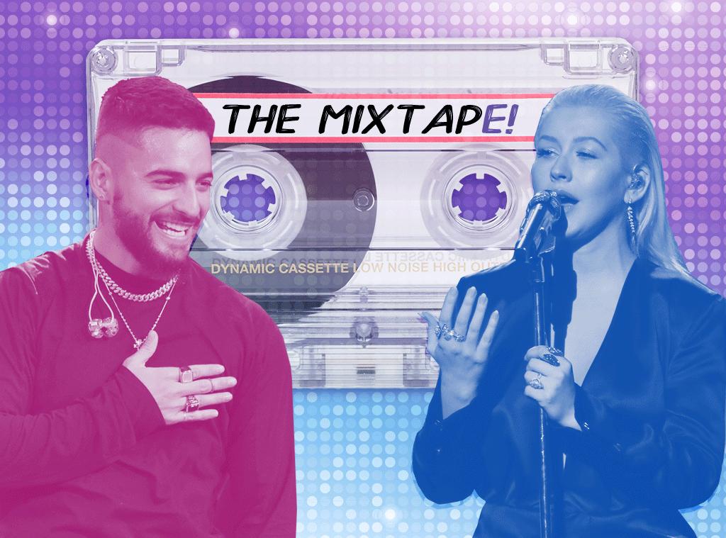 The MixTapE!, Maluma, Christina Aguilera