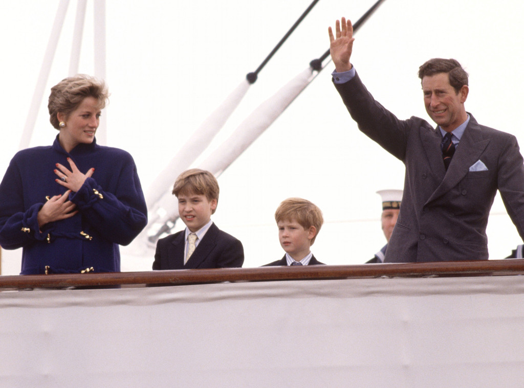 Princess Diana, Prince William, Prince Harry, Prince Charles