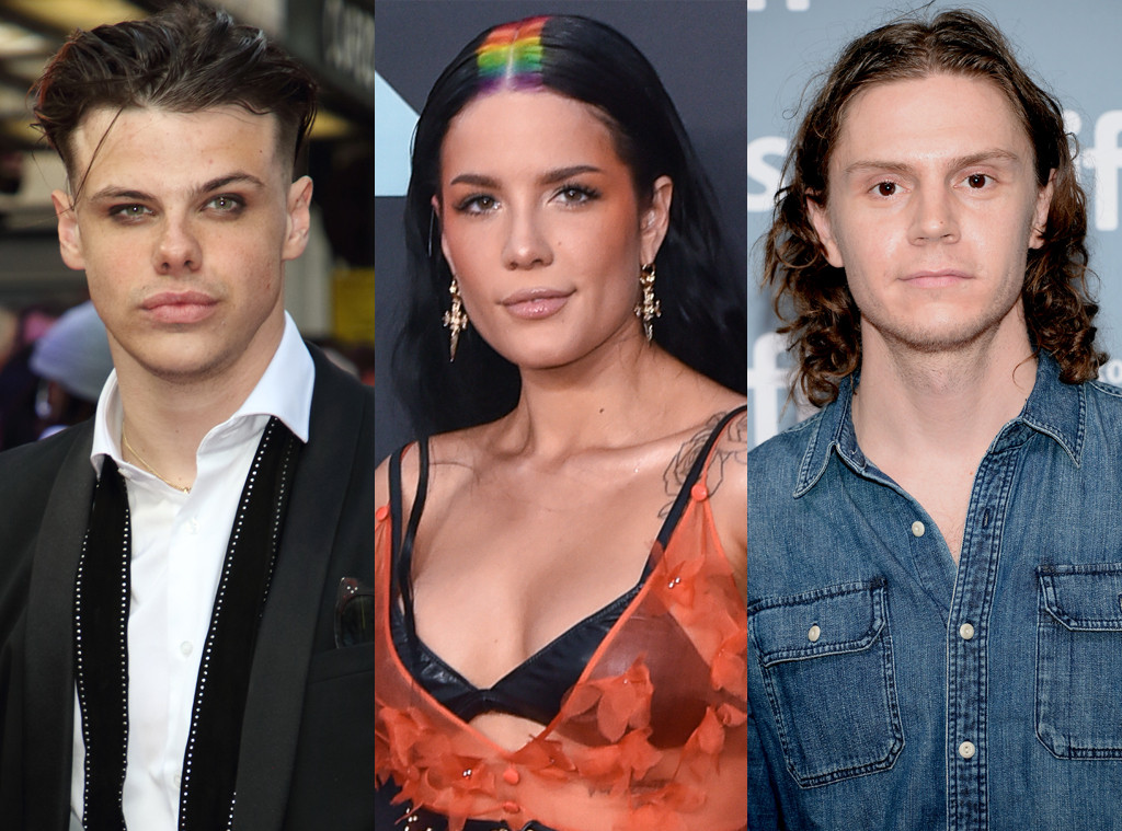 Yungblud, Halsey, Evan Peters