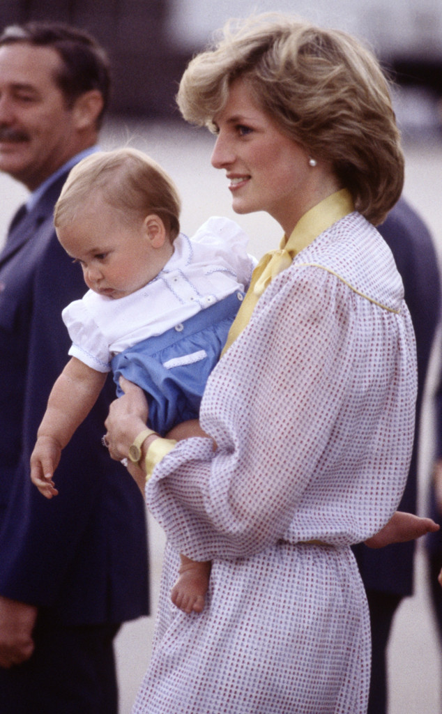Diana Princess, Prince William, Royal Tour of Australia
