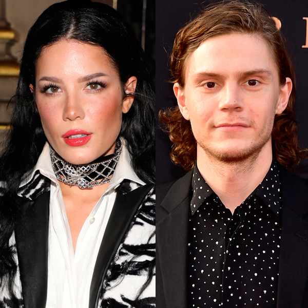 Halsey and Evan Peters Fuel Romance Rumors After Displaying PDA