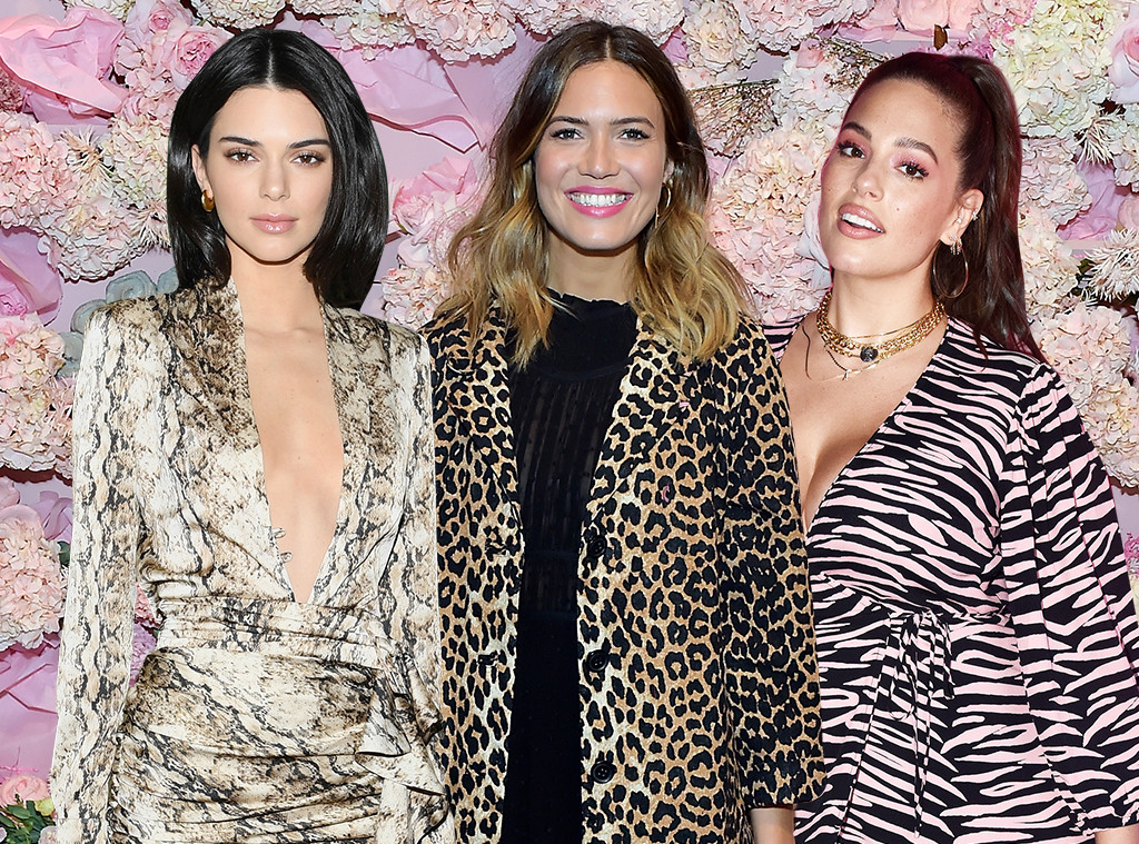 E-Comm: Animal Prints, Kendall Jenner, Mandy Moore, Ashley Graham