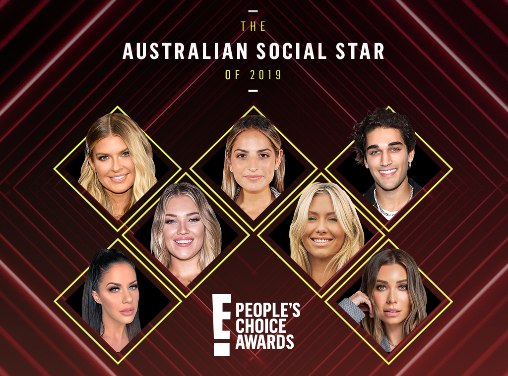 2019 Peoples Choice Awards, Australian Social Star, PCAs