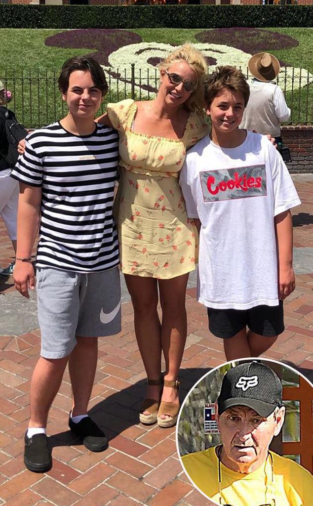 Britney Spears, Jamie Spears, Sean, Jayden