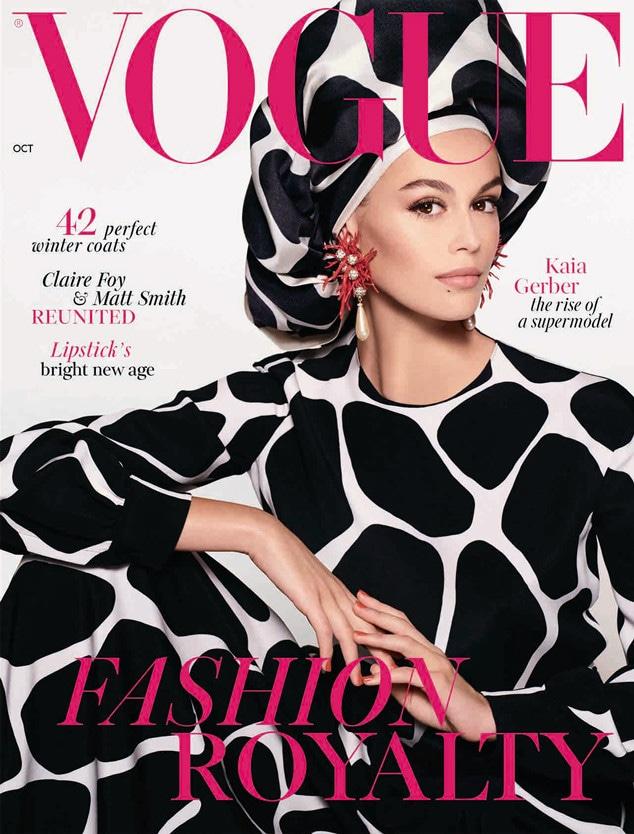 Kaia Gerber, British Vogue