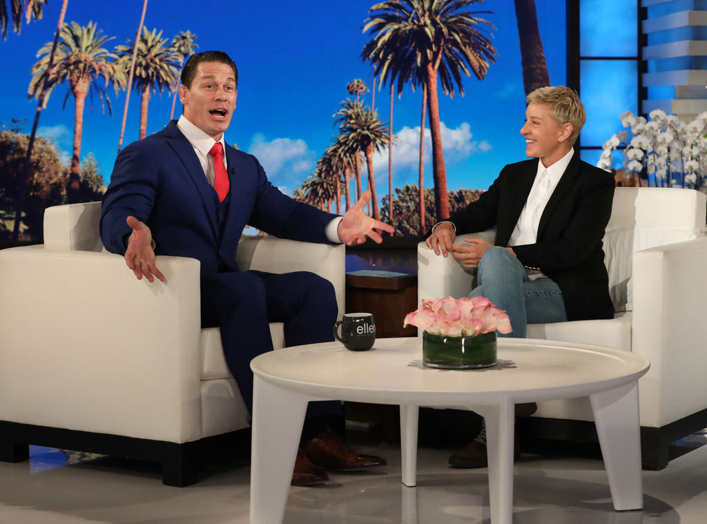 John Cena, Ellen DeGeneres