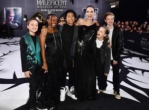 Knox Jolie-Pitt, Zahara Jolie-Pitt, Pax Jolie-Pitt, Angelina Jolie, Vivian Jolie-Pitt, Shiloh Jolie-Pitt