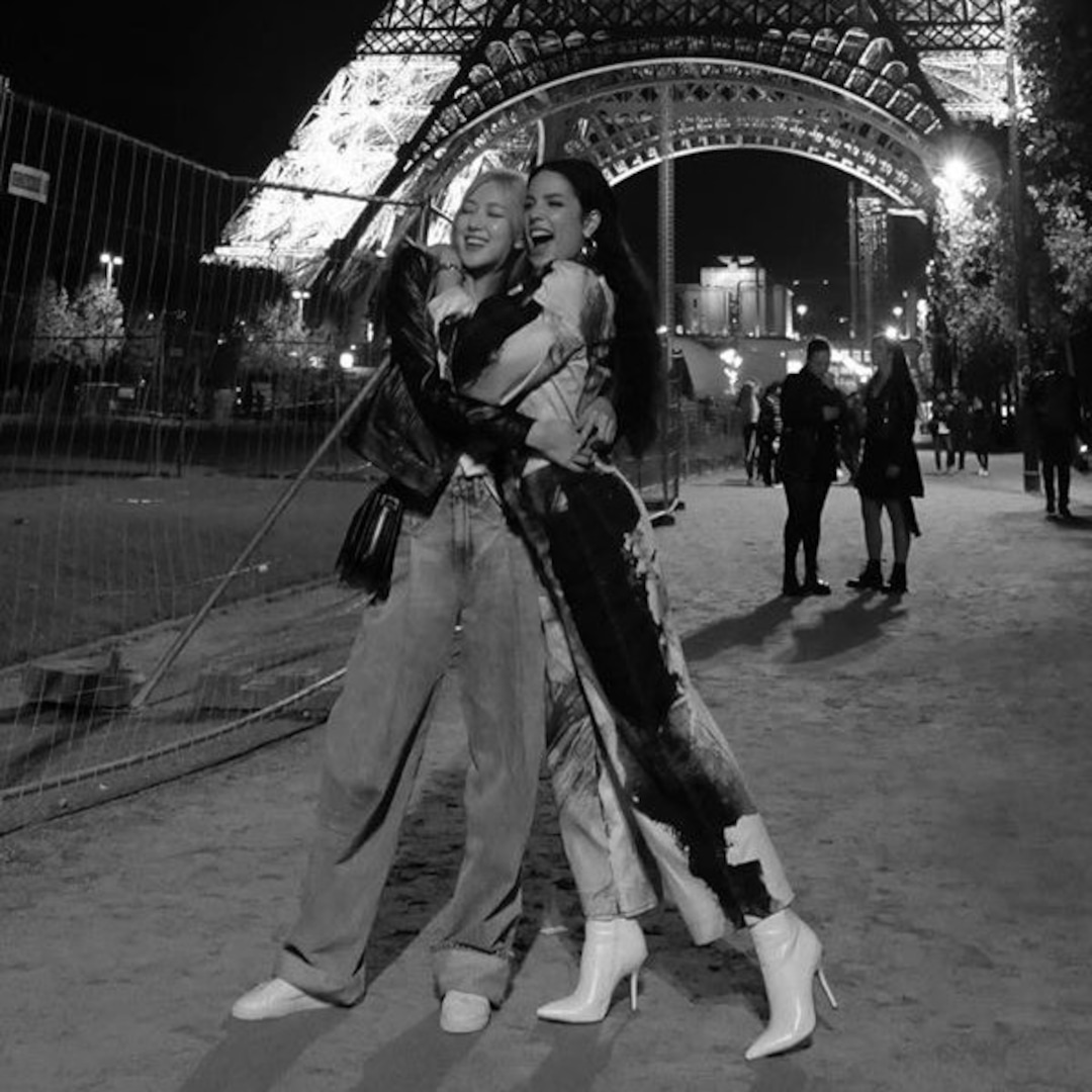 BLACKPINK's Rosé And Halsey Are Living Their Best Lives In Paris - E!  Online - AP
