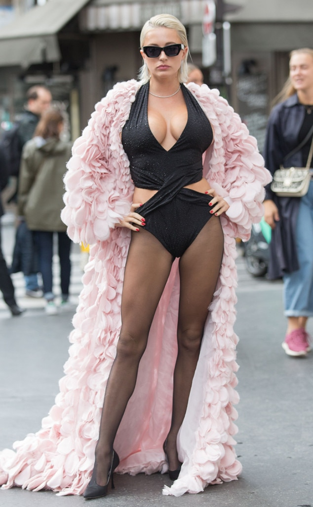 Caroline Vreeland, 2019 Paris Fashion Week, Street Style