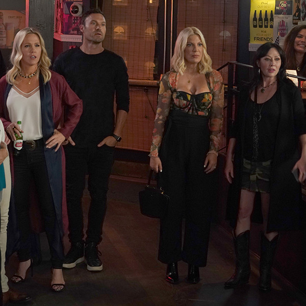 The Cast of BH90210 Listing Their Possible Enemies Is the Best Scene So Far