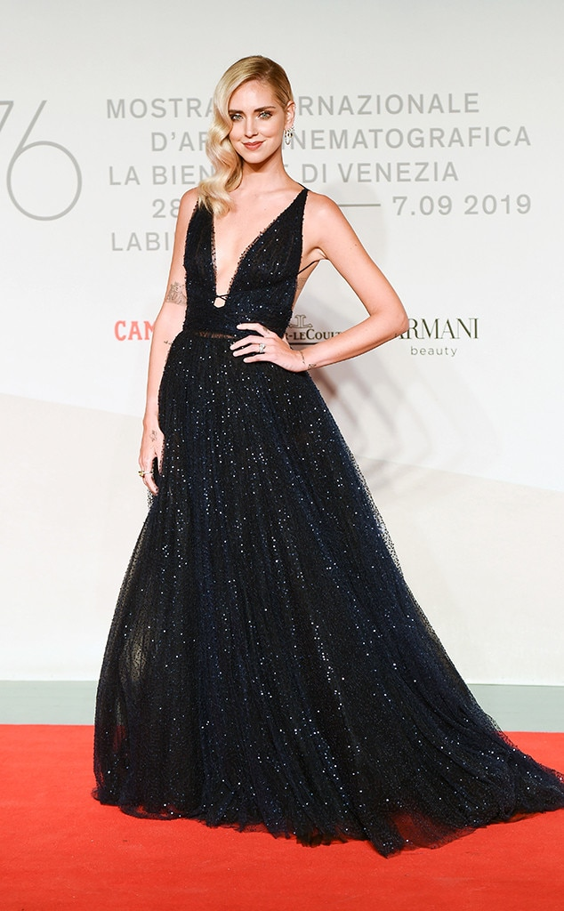 Chiara Ferragni, Venice Film Festival