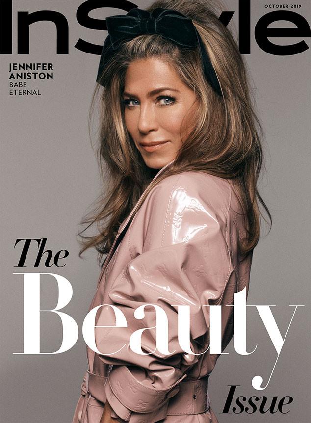 Jennifer Aniston, InStyle, October 2019