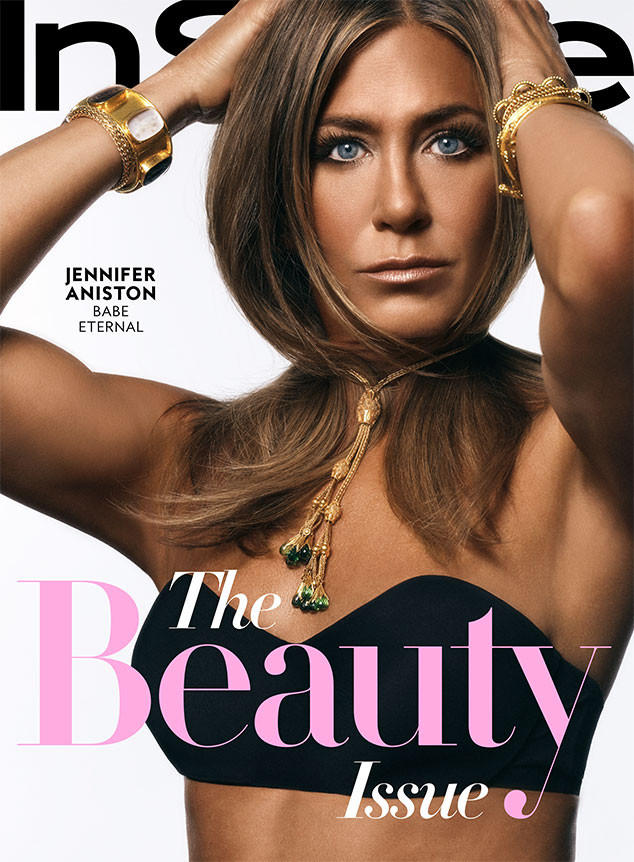 Jennifer Aniston, InStyle, October 2019