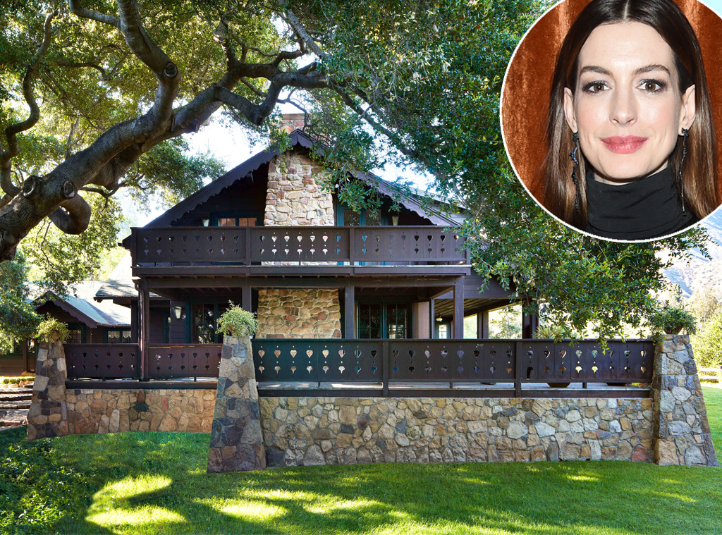 Anne Hathaway, real estate, California country home