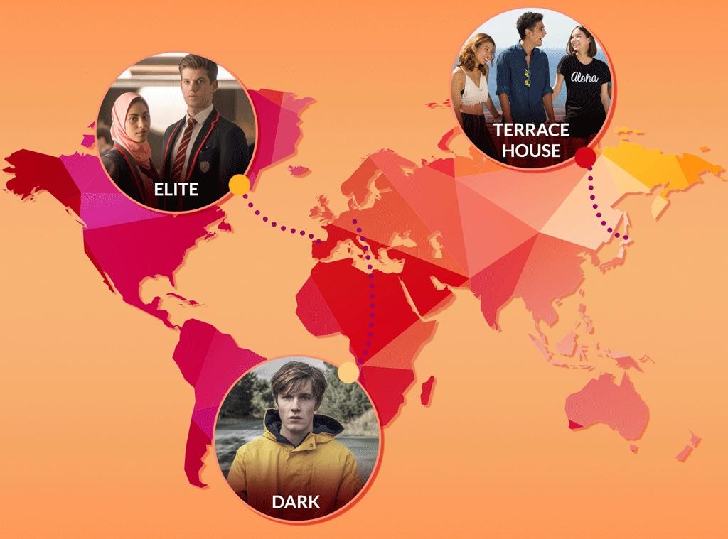 International Netflix Shows, Elite, Terrace House, Dark
