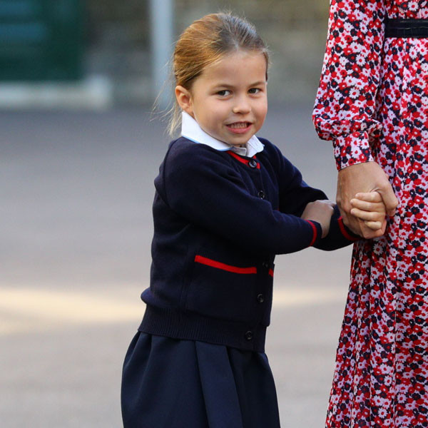 Princess Charlotte Is the Most Confident Student on Her First Day of School