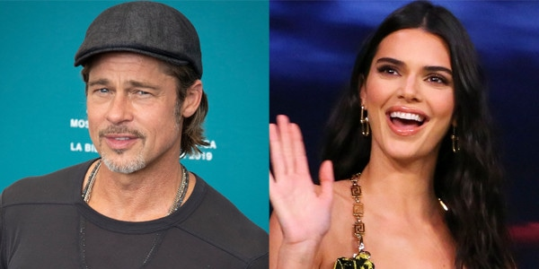 Kendall Jenner Was So Nervous Seeing Brad Pitt at Sunday Service