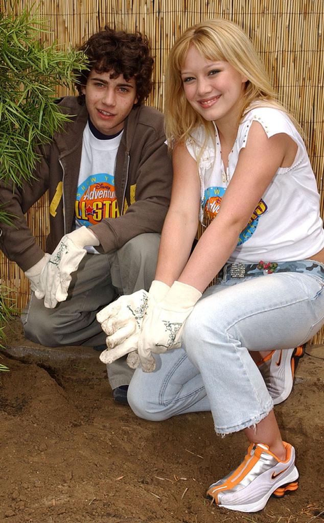 Adam Lamberg, Hilary Duff