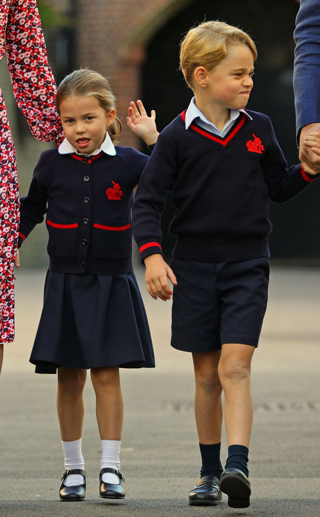 Princess Charlotte, Prince George, School