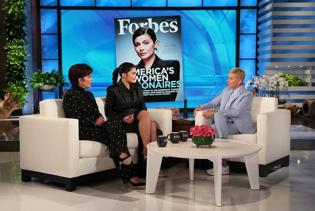 Kylie Jenner, Kris Jenner, The Ellen DeGeneres Show