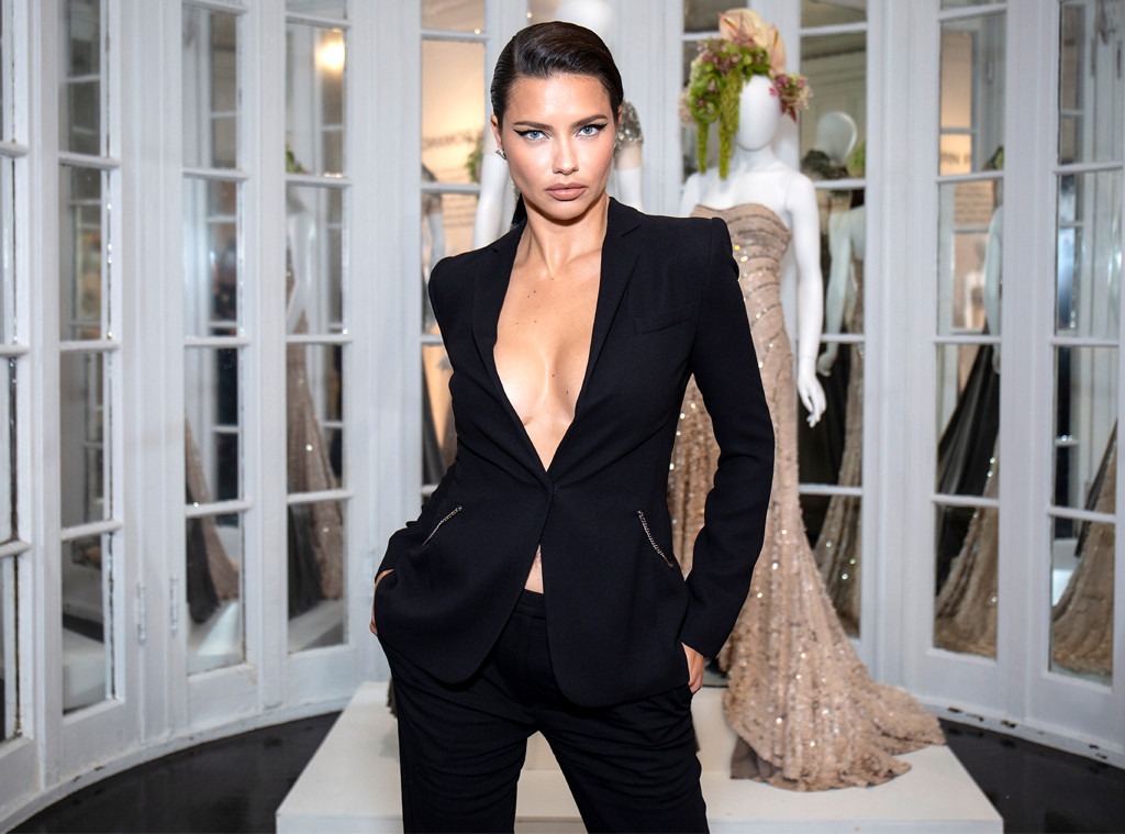 Adriana Lima, Celebrity Sightings At Fashion Week, 2019 New York Fashion Week