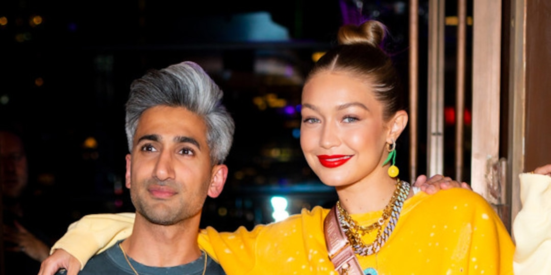 """Tan France is Leaning on Gigi Hadid For Baby Advice And Shares """"Ludicrous"""" Parenting Choice He's Avoiding - E! Online.jpg"""