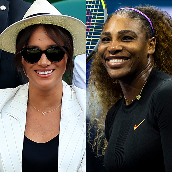 Meghan Markle Flies to NYC to Watch Serena Williams in U.S. Open Final