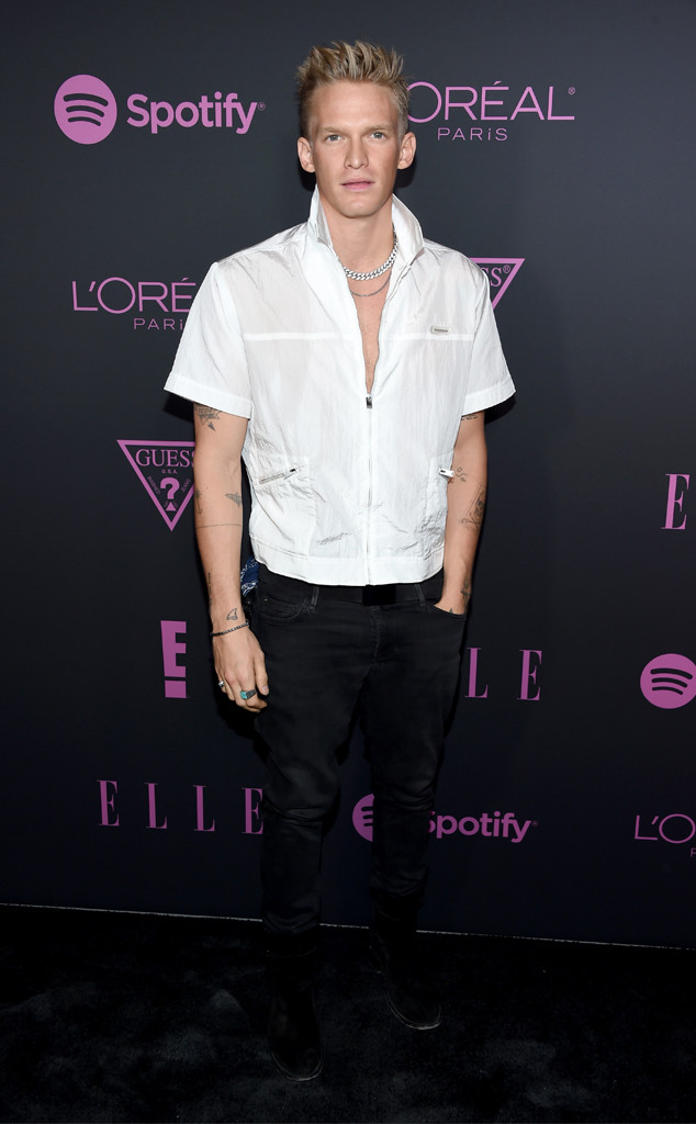 Cody Simpson, Celebrity Sightings At Fashion Week, 2019 New York Fashion Week, E! Kickoff, Elle Women in Music