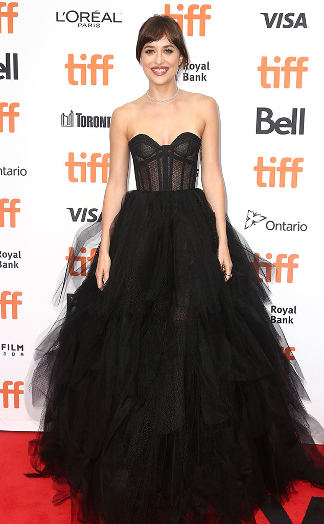 Dakota Johnson, TIFF, 2019 Toronto Film Festival, Fashion Police widget