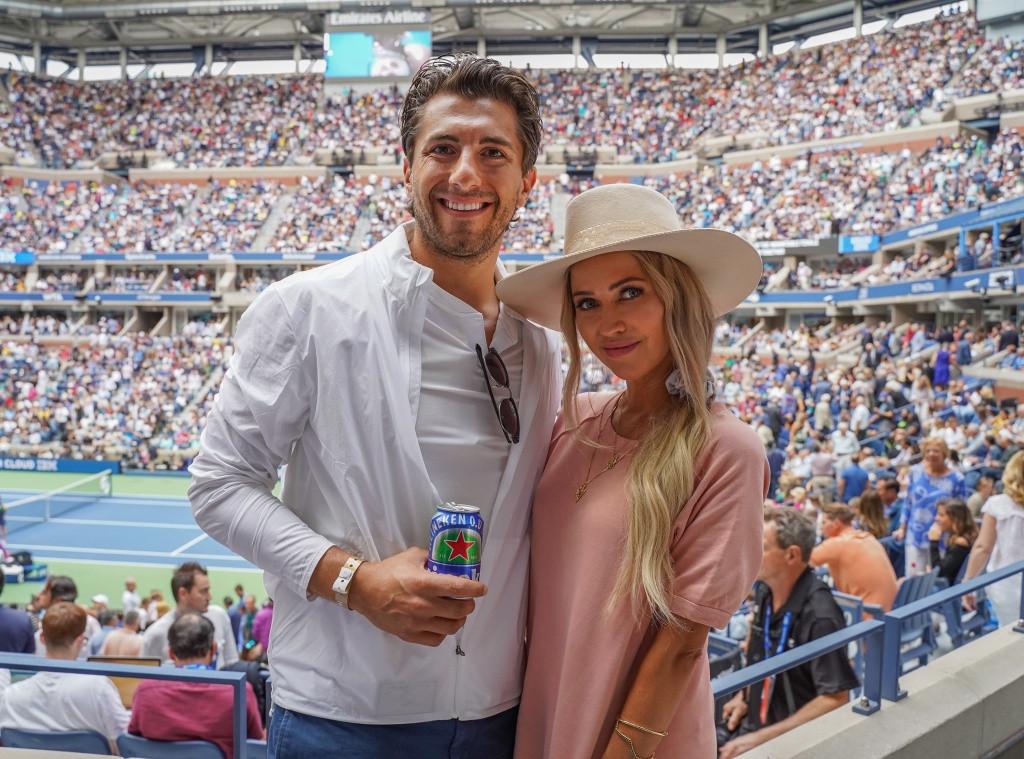 Jason Tartick, Kaitlyn Bristowe, 2019 U.S. Open