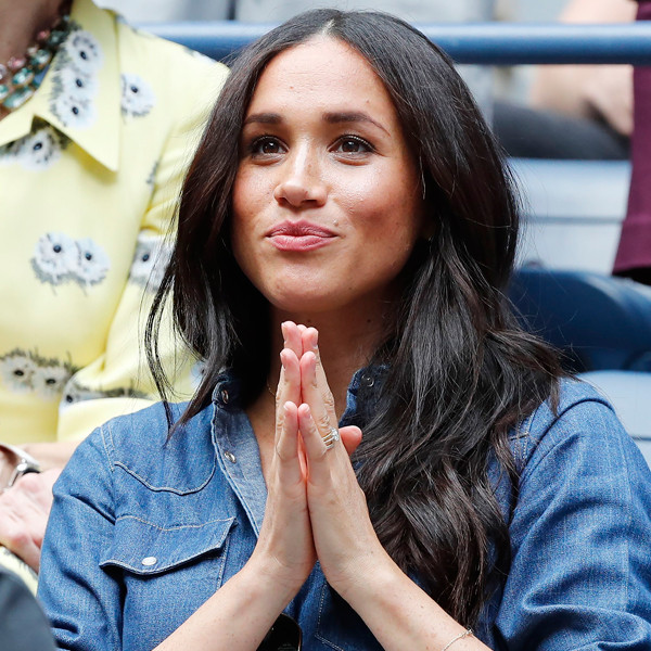 Meghan Markle Sports Casual Chic Style as She Cheers on Serena Williams at U.S. Open
