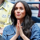 Meghan Markle Cheers on Serena Williams at 2019 U.S. Open