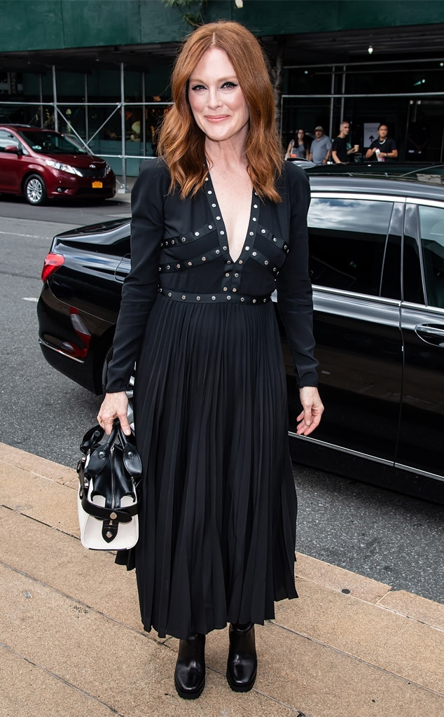 Julianne Moore From See Every Celebrity At Fashion Week
