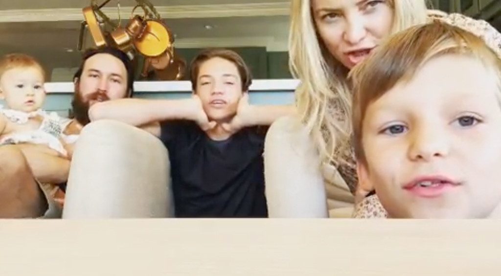 Kate Hudson, Son, Ryder Robinson, Bingham Bellamy, Rani Rose Fujiwaka, Danny Fujikawa, Instagram