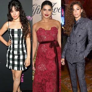 Camila Cabello, Zendaya, Priyanka Chopra