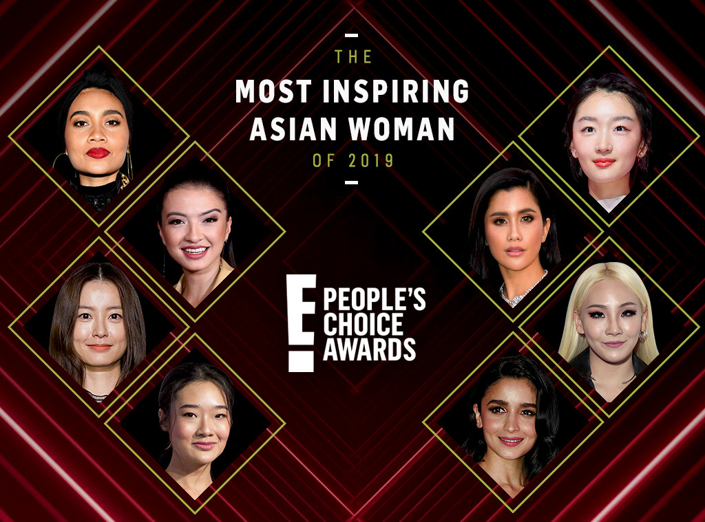 The Most Inspiring Asian Woman Award, 2019 Peoples Choice Awards