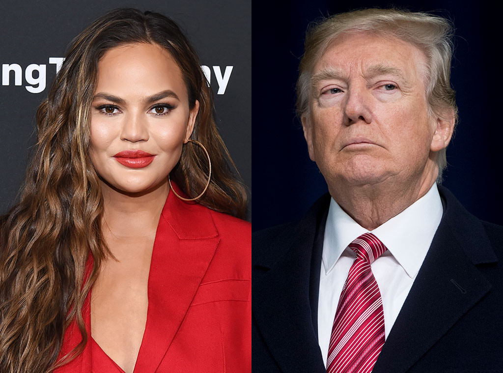 Chrissy Teigen, Donald Trump