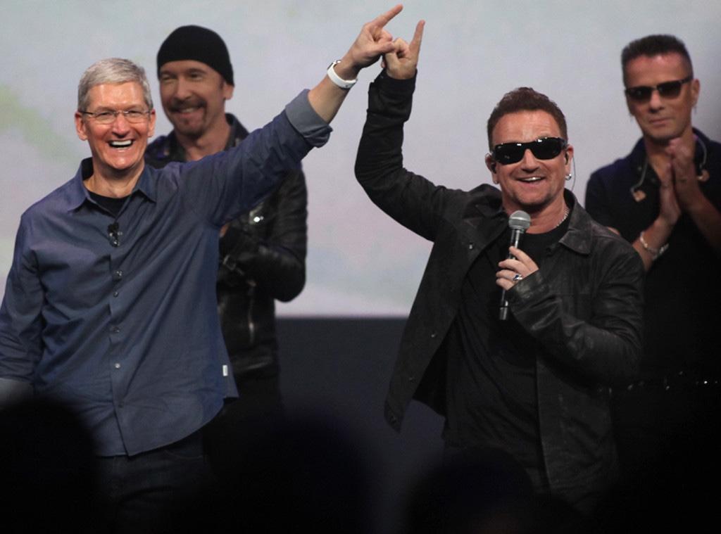 U2, Tim Cook