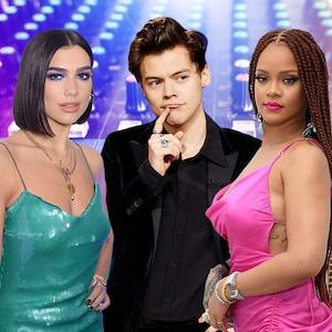 Dua Lipa, Harry Styles, Rihanna, Music Album Feature