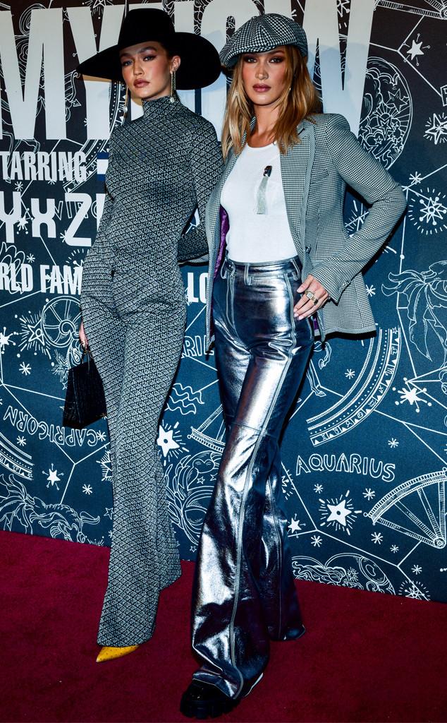 Gigi Hadid, Bella Hadid, 2019 New York Fashion Week