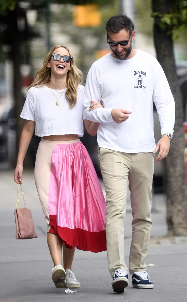 Jennifer Lawrence Marries Cooke Maroney in Star-Studded