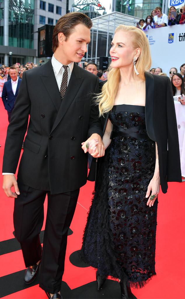 Ansel Elgort, Nicole Kidman, Toronto International Film Festival