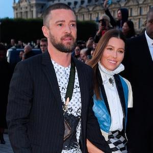 Justin Timberlake, Jessica Biel, Paris Fashion Week Celeb Sightings, Attack