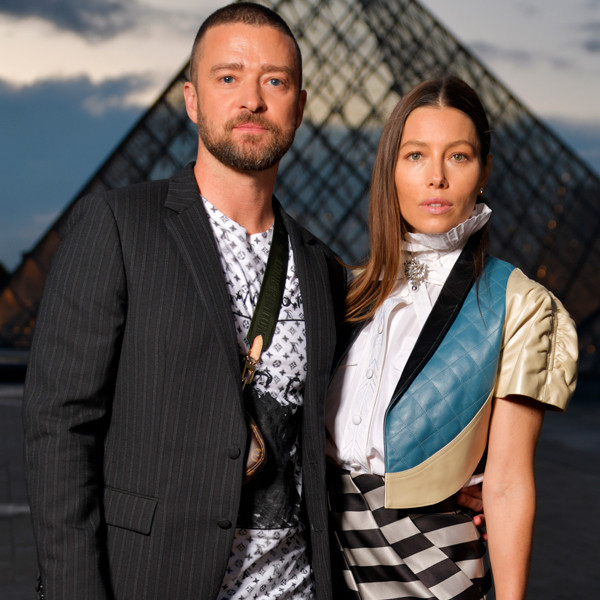 Justin Timberlake, Jessica Biel, 2019 Paris Fashion Week