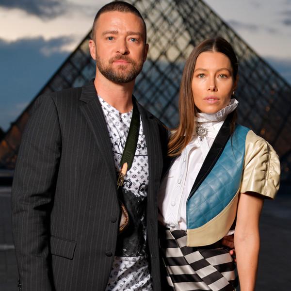 Justin Timberlake, Jessica Biel, 2019 Paris Fashion Week