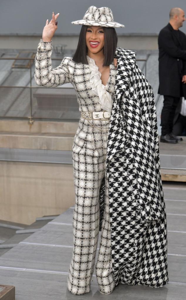 Cardi B, Celebrities at Fashion Week